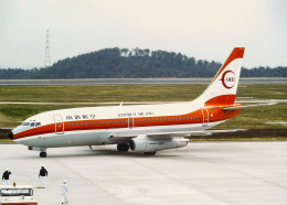 Bokuranさんが、岡山空港で撮影した南西航空 737-2Q3/Advの航空フォト(飛行機 写真・画像)