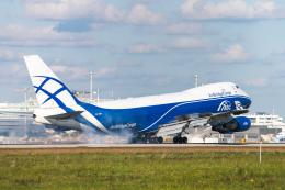 gomaさんが、ミュンヘン・フランツヨーゼフシュトラウス空港で撮影したエアブリッジ・カーゴ・エアラインズ 747-406F/ER/SCDの航空フォト(飛行機 写真・画像)