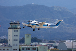 チャッピー・シミズさんが、小松空港で撮影した海上保安庁 King Air 350C (B300C)の航空フォト(飛行機 写真・画像)