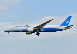 じーく。さんが、成田国際空港で撮影した厦門航空 787-9の航空フォト(飛行機 写真・画像)