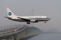 senyoさんが、関西国際空港で撮影した厦門航空 737-75Cの航空フォト(飛行機 写真・画像)