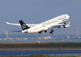 タミーさんが、羽田空港で撮影したルフトハンザドイツ航空 A340-313Xの航空フォト(飛行機 写真・画像)