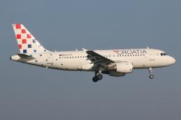 NIKEさんが、アムステルダム・スキポール国際空港で撮影したクロアチア航空 A319-112の航空フォト(飛行機 写真・画像)