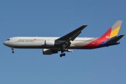 Deepさんが、成田国際空港で撮影したアシアナ航空 767-38Eの航空フォト(飛行機 写真・画像)