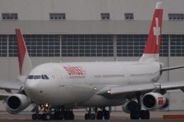 木人さんが、成田国際空港で撮影したスイスインターナショナルエアラインズ A340-313Xの航空フォト(飛行機 写真・画像)
