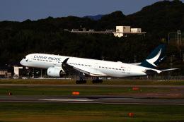 M.airphotoさんが、福岡空港で撮影したキャセイパシフィック航空 A350-941の航空フォト(飛行機 写真・画像)