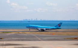 カヤノユウイチさんが、羽田空港で撮影した大韓航空 747-4B5の航空フォト(写真)