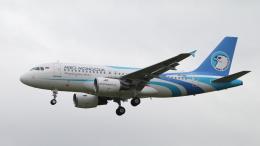 raichanさんが、成田国際空港で撮影したアエロ・モンゴリア A319-112の航空フォト(飛行機 写真・画像)