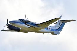 れぐぽよさんが、小松空港で撮影した海上保安庁 King Air 350C (B300C)の航空フォト(飛行機 写真・画像)