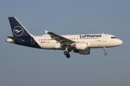 NIKEさんが、アムステルダム・スキポール国際空港で撮影したルフトハンザドイツ航空 A319-114の航空フォト(飛行機 写真・画像)