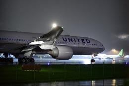 kina309さんが、羽田空港で撮影したユナイテッド航空 777-322/ERの航空フォト(飛行機 写真・画像)