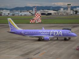 エアキンさんが、名古屋飛行場で撮影したフジドリームエアラインズ ERJ-170-200 (ERJ-175STD)の航空フォト(飛行機 写真・画像)