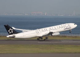✈️Icchiさんが、羽田空港で撮影したルフトハンザドイツ航空 A340-313Xの航空フォト(飛行機 写真・画像)