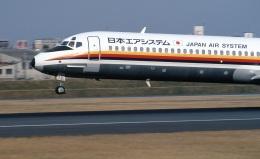 LEVEL789さんが、伊丹空港で撮影した日本エアシステム MD-87 (DC-9-87)の航空フォト(飛行機 写真・画像)