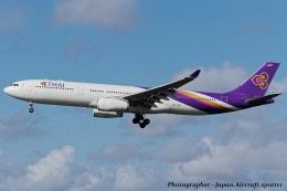 いおりさんが、成田国際空港で撮影したタイ国際航空 A330-343Xの航空フォト(飛行機 写真・画像)