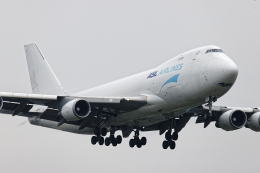 SGR RT 改さんが、成田国際空港で撮影したASLエアラインズ・ベルギー 747-4KZF/SCDの航空フォト(飛行機 写真・画像)