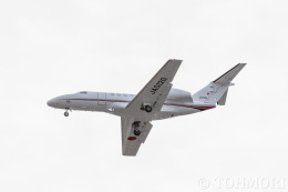 遠森一郎さんが、福岡空港で撮影した国土交通省 航空局 525C Citation CJ4の航空フォト(飛行機 写真・画像)