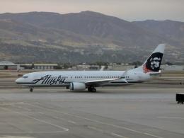 TA27さんが、ソルトレークシティ国際空港で撮影したアラスカ航空 737-890の航空フォト(飛行機 写真・画像)