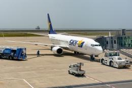 Ariesさんが、神戸空港で撮影したスカイマーク 737-800の航空フォト(飛行機 写真・画像)