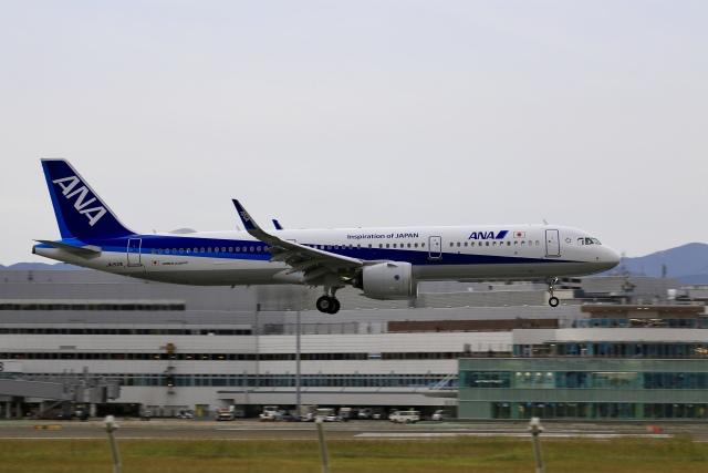 航空フォト:JA152A 全日空 A321neo