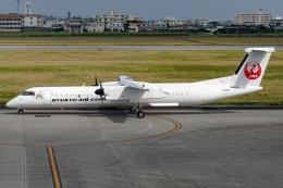 Ariesさんが、宮古空港で撮影した琉球エアーコミューター DHC-8-402Q Dash 8 Combiの航空フォト(飛行機 写真・画像)