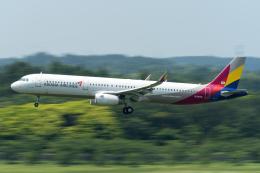 K.Sさんが、成田国際空港で撮影したアシアナ航空 A321-231の航空フォト(飛行機 写真・画像)