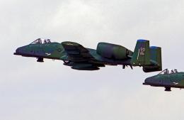 A-330さんが、厚木飛行場で撮影したアメリカ空軍 A-10A Thunderbolt IIの航空フォト(飛行機 写真・画像)