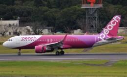 Rsaさんが、成田国際空港で撮影したピーチ A320-214の航空フォト(飛行機 写真・画像)