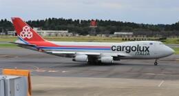 Rsaさんが、成田国際空港で撮影したカーゴルクス・イタリア 747-4R7F/SCDの航空フォト(飛行機 写真・画像)