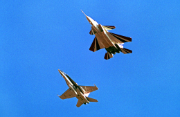 A-330さんが、ネリス空軍基地で撮影したアメリカ航空宇宙局 F/A-18A Hornetの航空フォト(飛行機 写真・画像)