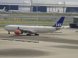 Blue779Aさんが、羽田空港で撮影したスカンジナビア航空 A330-343Xの航空フォト(飛行機 写真・画像)