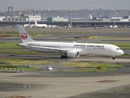 Blue779Aさんが、羽田空港で撮影した日本航空 787-9の航空フォト(飛行機 写真・画像)