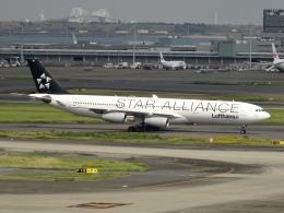 Blue779Aさんが、羽田空港で撮影したルフトハンザドイツ航空 A340-313Xの航空フォト(飛行機 写真・画像)