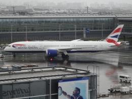 Blue779Aさんが、羽田空港で撮影したブリティッシュ・エアウェイズ 787-9の航空フォト(飛行機 写真・画像)