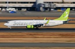 kaeru6006さんが、羽田空港で撮影したソラシド エア 737-86Nの航空フォト(飛行機 写真・画像)
