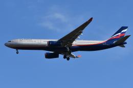 Deepさんが、成田国際空港で撮影したアエロフロート・ロシア航空 A330-343Xの航空フォト(飛行機 写真・画像)