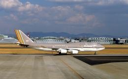 LEVEL789さんが、名古屋飛行場で撮影したアシアナ航空 747-48EMの航空フォト(飛行機 写真・画像)