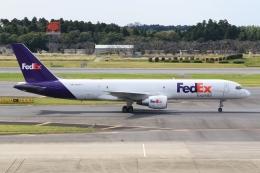 空飛ぶ丸さんさんが、成田国際空港で撮影したフェデックス・エクスプレス 757-231の航空フォト(飛行機 写真・画像)