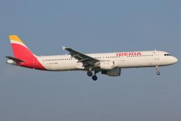 NIKEさんが、アムステルダム・スキポール国際空港で撮影したイベリア航空 A321-211の航空フォト(飛行機 写真・画像)
