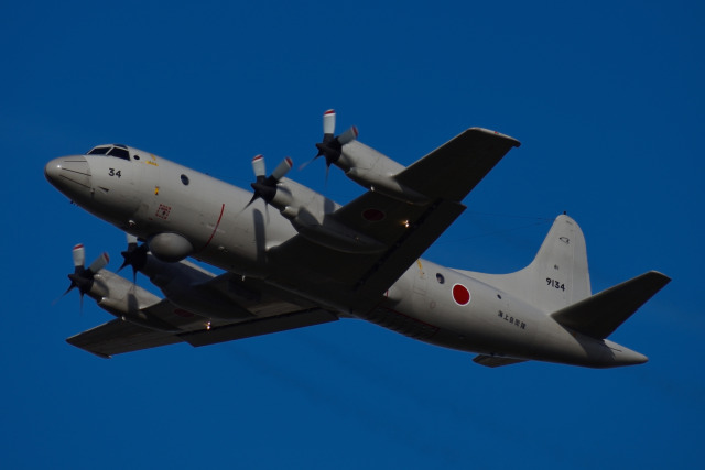 Ryo-TKSさんが、徳島空港で撮影した海上自衛隊 OP-3Cの航空フォト(飛行機 写真・画像)