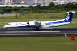 ▲®さんが、伊丹空港で撮影したANAウイングス DHC-8-402Q Dash 8の航空フォト(飛行機 写真・画像)