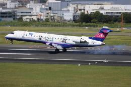 ▲®さんが、伊丹空港で撮影したアイベックスエアラインズ CL-600-2C10(CRJ-702ER)の航空フォト(飛行機 写真・画像)