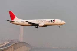 senyoさんが、関西国際空港で撮影した日本トランスオーシャン航空 737-4Q3の航空フォト(飛行機 写真・画像)