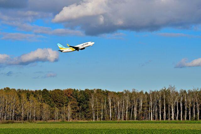 パンダさんが、帯広空港で撮影したAIR DO 737-781の航空フォト(飛行機 写真・画像)