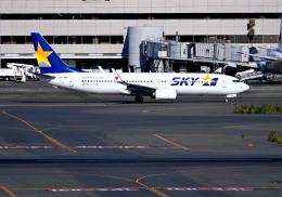 雲霧さんが、羽田空港で撮影したスカイマーク 737-86Nの航空フォト(飛行機 写真・画像)