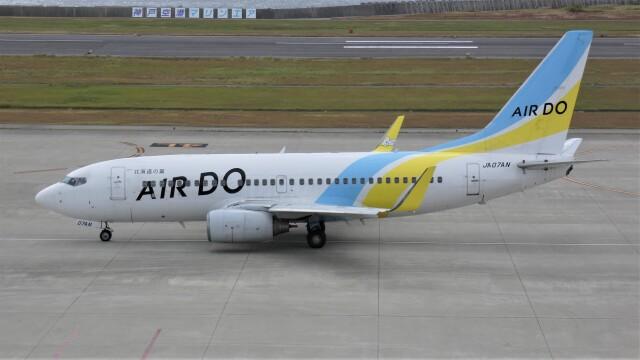 航空見聞録さんが、神戸空港で撮影したAIR DO 737-781の航空フォト(飛行機 写真・画像)