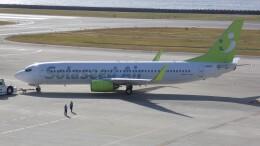 航空見聞録さんが、神戸空港で撮影したソラシド エア 737-81Dの航空フォト(飛行機 写真・画像)