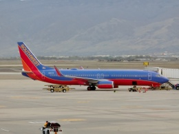 TA27さんが、ソルトレークシティ国際空港で撮影したサウスウェスト航空 737-8H4の航空フォト(飛行機 写真・画像)