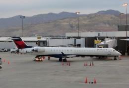 TA27さんが、ソルトレークシティ国際空港で撮影したスカイウエスト CL-600-2D24 Regional Jet CRJ-900の航空フォト(飛行機 写真・画像)