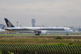 飛行機ゆうちゃんさんが、成田国際空港で撮影したシンガポール航空 787-10の航空フォト(飛行機 写真・画像)